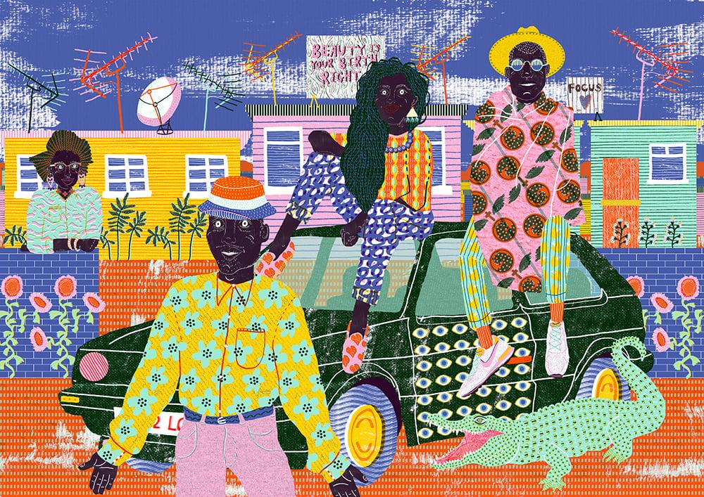 Image of Soweto Print