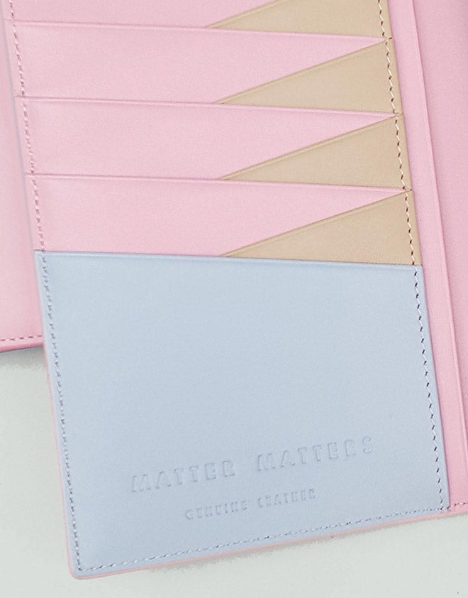 The M Long Wallet - Pink