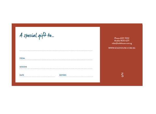 Image of SoleHouse Gift Voucher  - You Choose $100, $150, $200, $250, $500