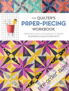 Image of The Quilter's Paper Piecing Workbook - Autographed!