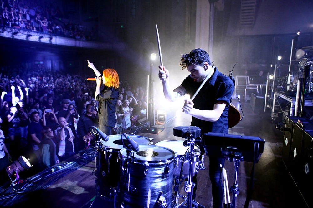 Image of Paramore Live in Portland Print