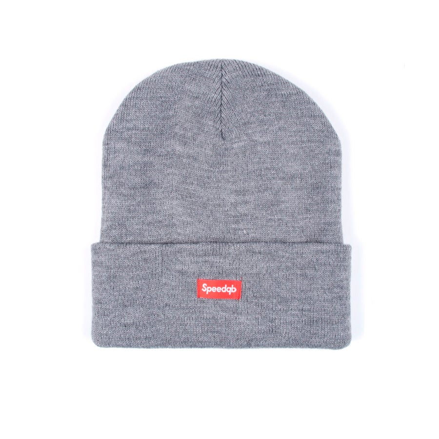 Image of SpeedQB Cuff Beanie - H. Grey