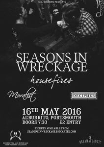 Image of Seasons In Wreckage w/ Housefires, Moralist & Decipher ETICKET