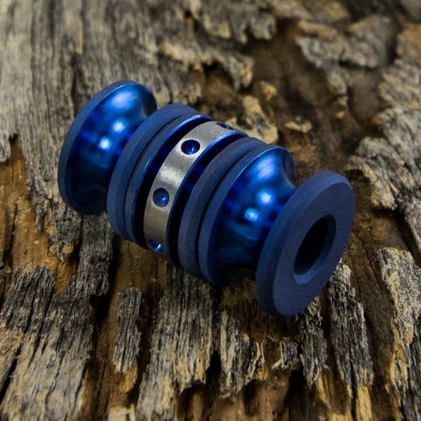 Image of Trifecta  Electric Blue Triple Bead Set #1