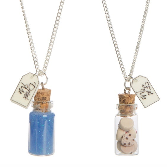 Image of Eat Me/Drink Me Wonderland Bottle Necklace