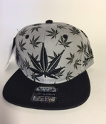 Image of GREY KUSH SNAP BACK HAT