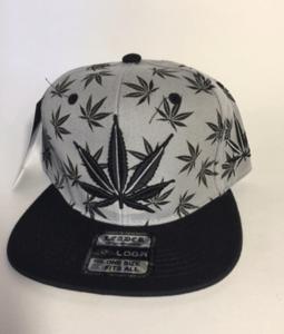 Image of GREY KUSH SNAP BACK HAT