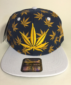 Image of GOLD KUSH SNAP BACK HAT