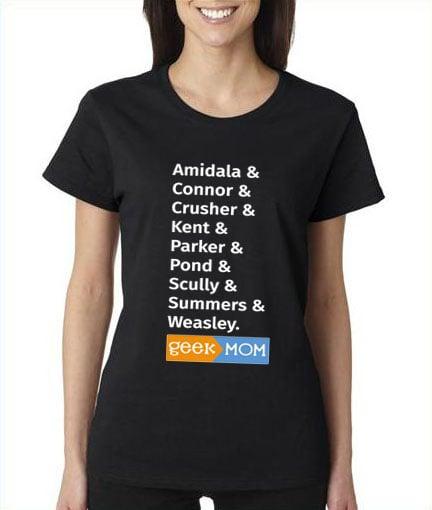 Image of GeekMom Ampersand Shirt