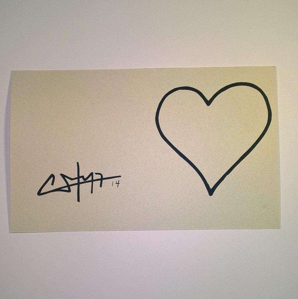 "Image of ""Amor"" (Love) - Greeting Card"