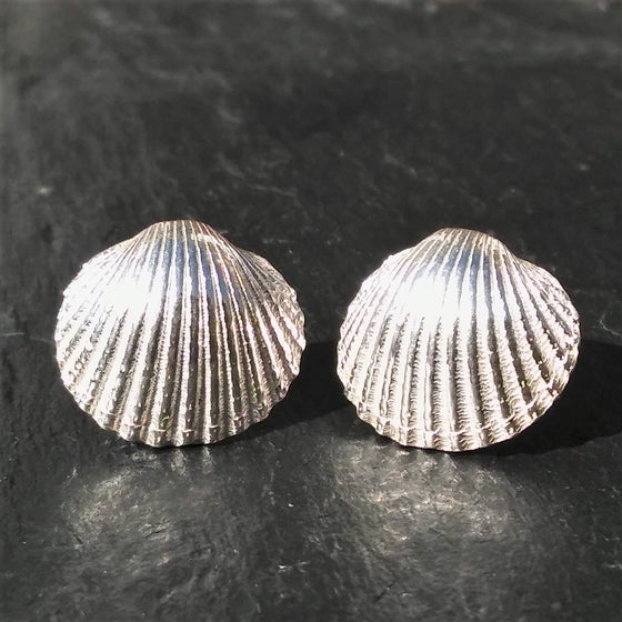 Image of Cockle Shell Earrings