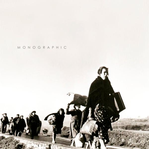 "Image of M O N O G R A P H I C ""S/T"" 12"" Gatefold LP. Black Vinyl 180gr"