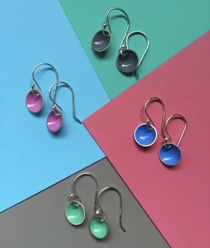 Image of Bubble Drop Earrings