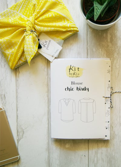 Image of Kit Patron - Blouse Chic Birdy