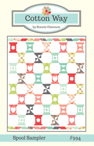 Image of Spool Sampler PDF Pattern #994