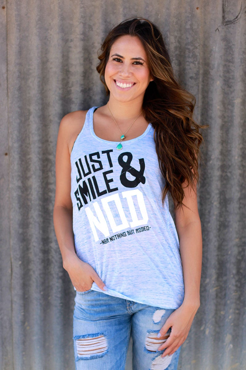 Image of Just Smile & Nod : Women's Tank