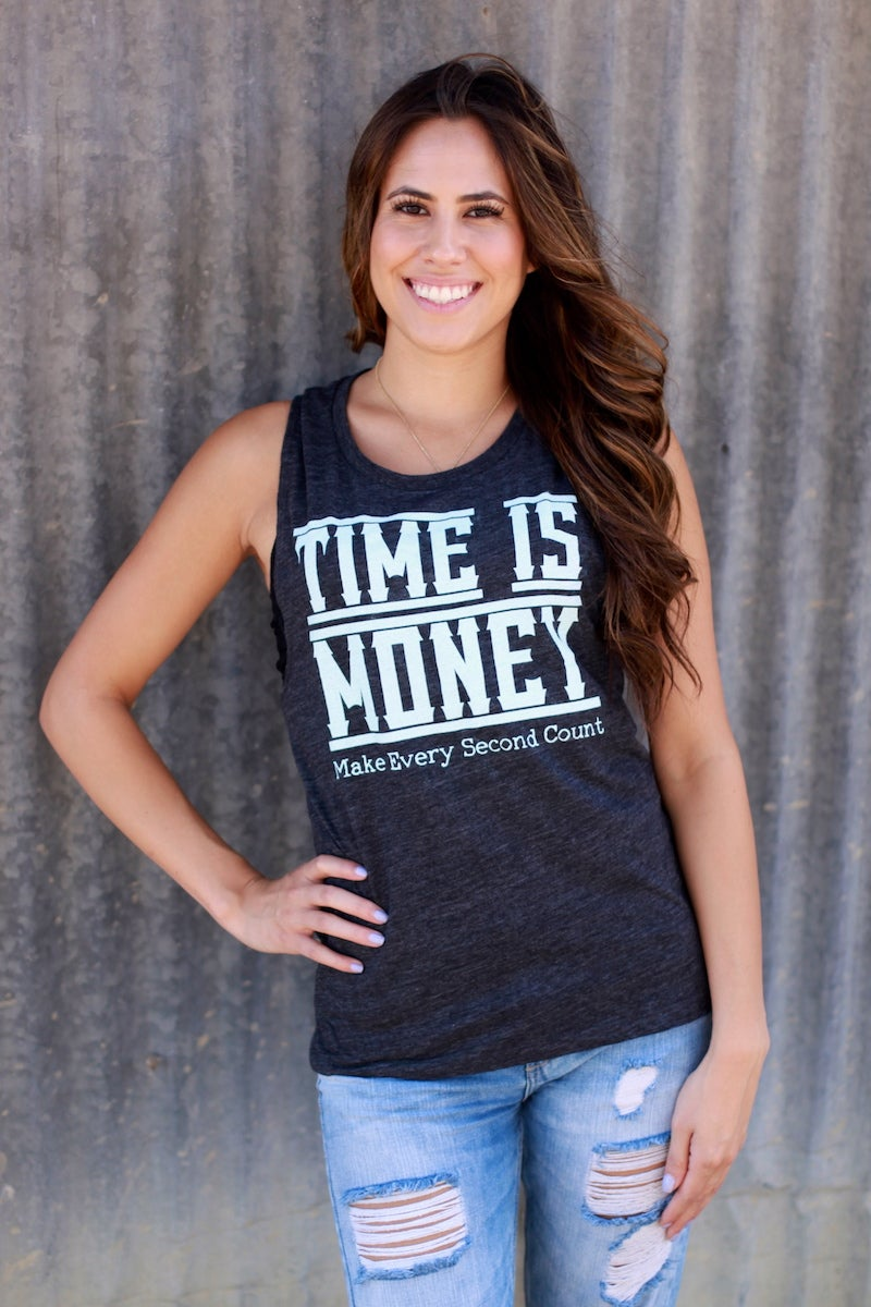 Image of Time Is Money : Women's Tank