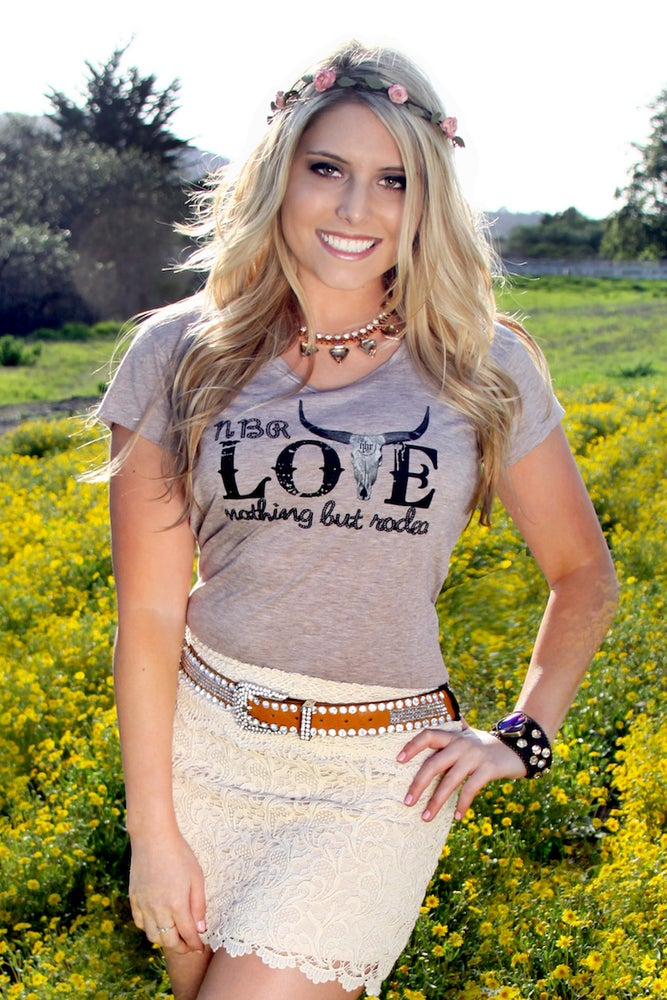 Image of Love Nothing But Rodeo : Women's T-Shirt