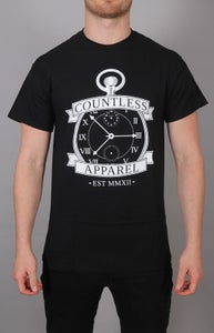 Image of Black Clockwork Tee.