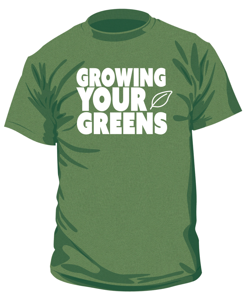 Image of Clearance Unisex Growing Your Greens t-shirt