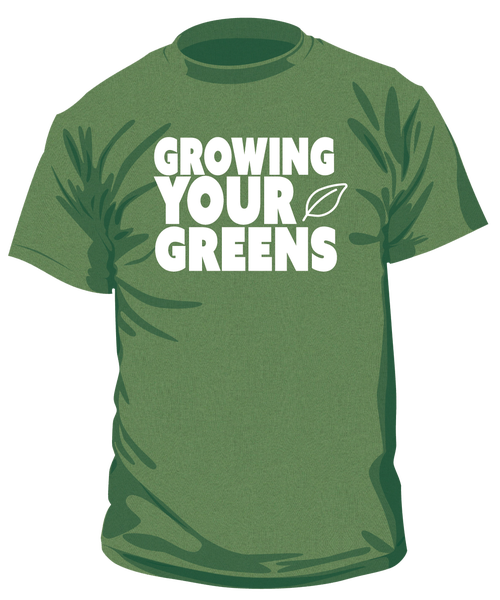 Image of Men's Growing Your Greens t-shirt