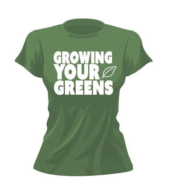Image of Women's Growing Your Greens t-shirt