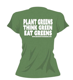 Image of Cleanse Women's Growing Your Greens t-shirt