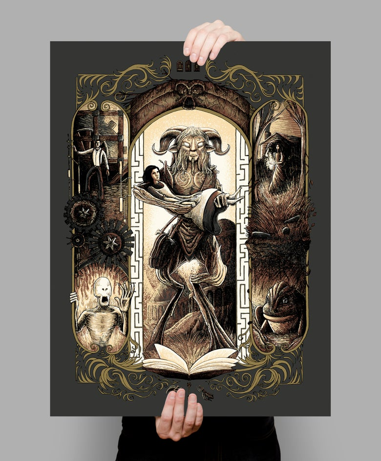Image of In Darkness, There Can Be Light Screen Printed Poster