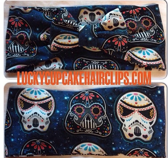 Image of Dia De Los Star Wars GALAXY turban