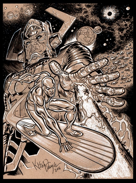 Image of Silver Surfer Galactus