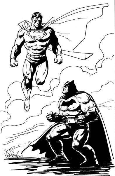 Image of Batman vs Superman