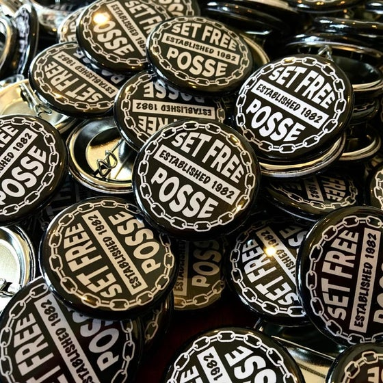 "Image of Set of 3 ""Set Free Posse"" Pin Buttons"