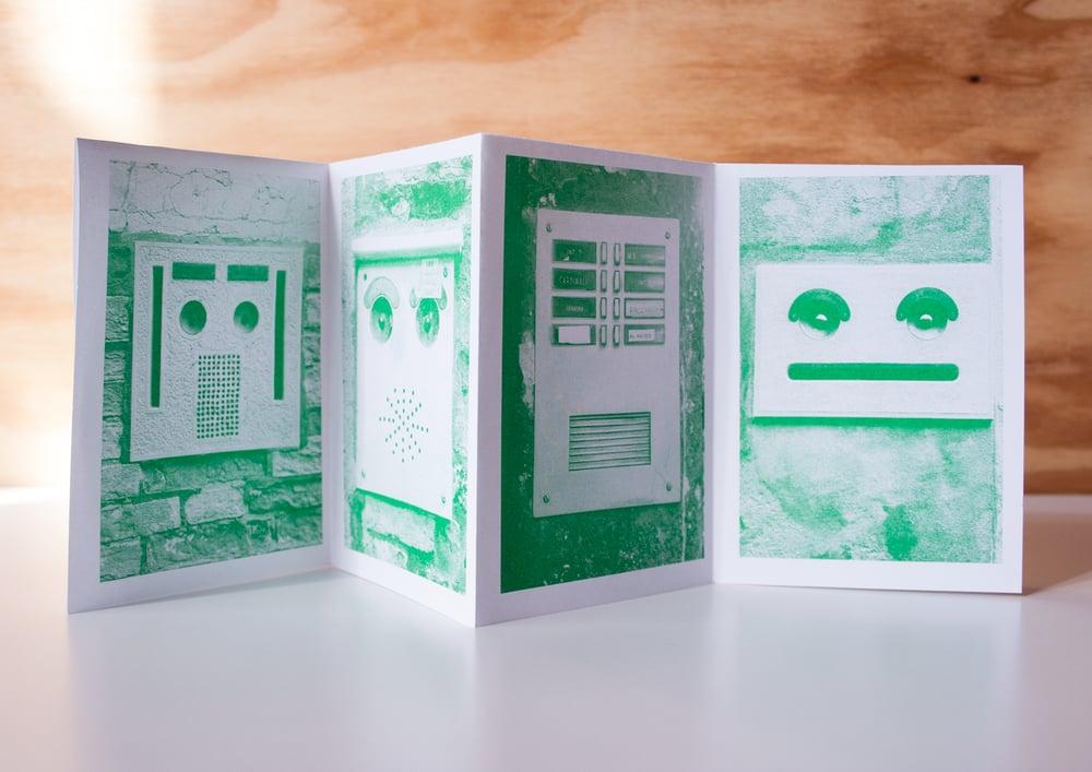 Image of Faces In Doorbells