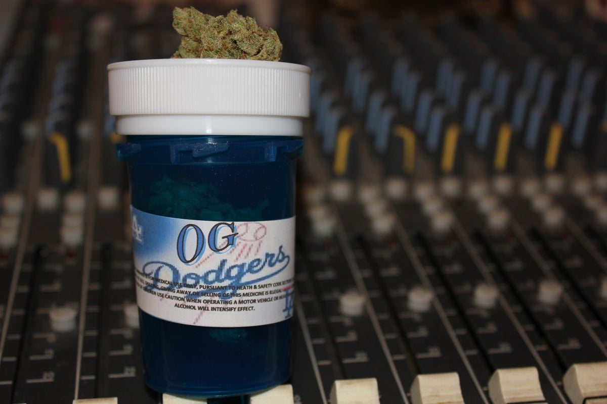 Image of OG Dodgers Kush (Limited Photo Print by Krazy Race)