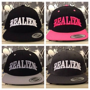 Image of Realizm Snapback Hats! (4 Different Colors)
