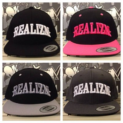 Image of Realizm Snapback Hats! (7 Different Colors)