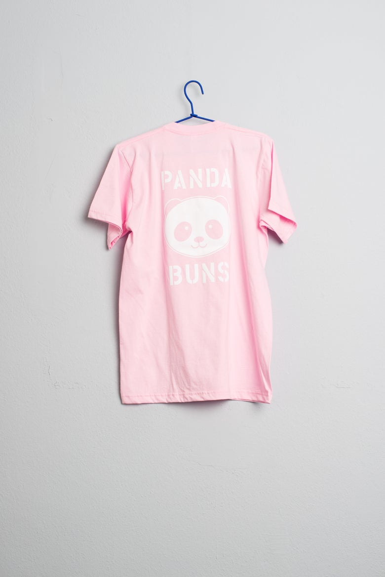Image of Panda Buns Pink Season T-Shirt