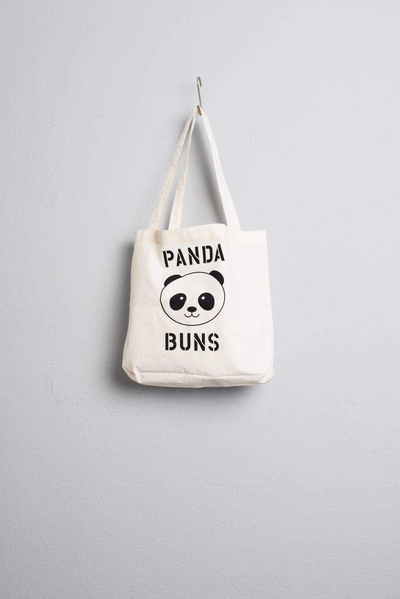 Image of Panda Buns Tote Bag