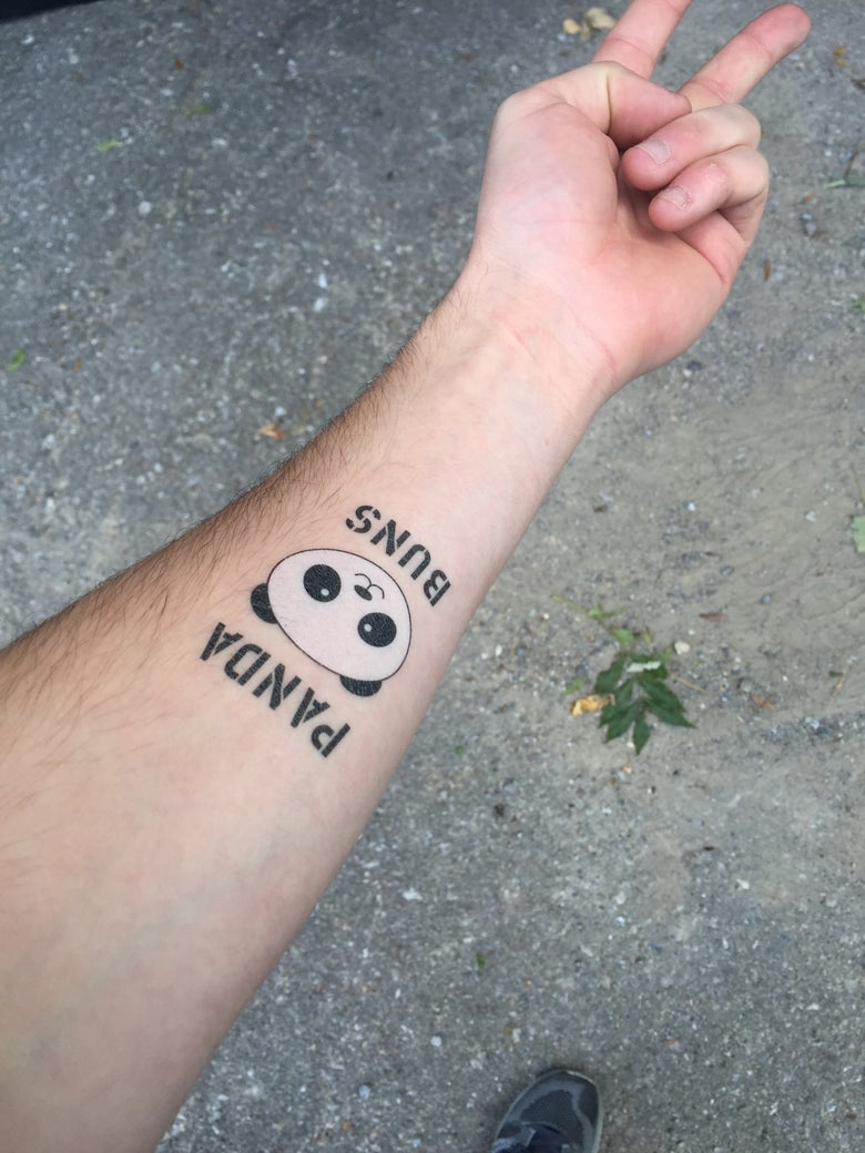 Image of Panda Buns Tattoos