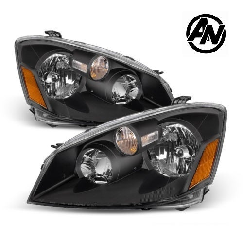Image of (L31) 05-06 ALTIMA SE-R STYLED BLACK HEADLIGHTS