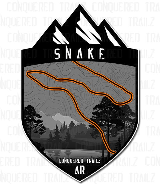 "Image of ""Snake"" Trail Badge"