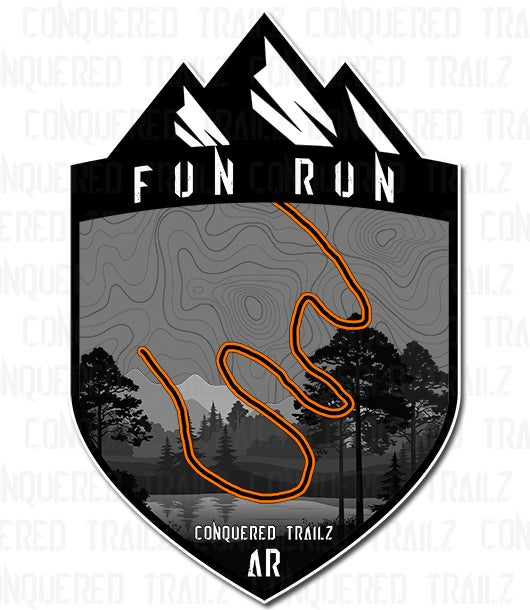"Image of ""Fun Run"" Trail Badge"