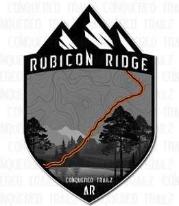 "Image of ""Rubicon Ridge"" Trail Badge"