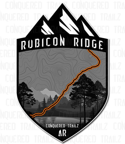 "Image of ""Rubicon Ridge"" Trail Badge"