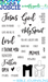 Image of Clear Stamps: Bible Journaling