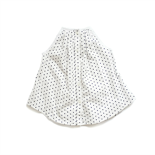 Image of Little Dot Button Up Dress