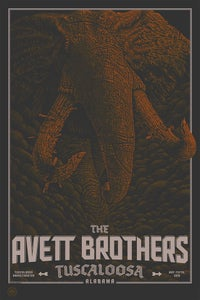 Image of The Avett Brothers Tuscaloosa 16 V2