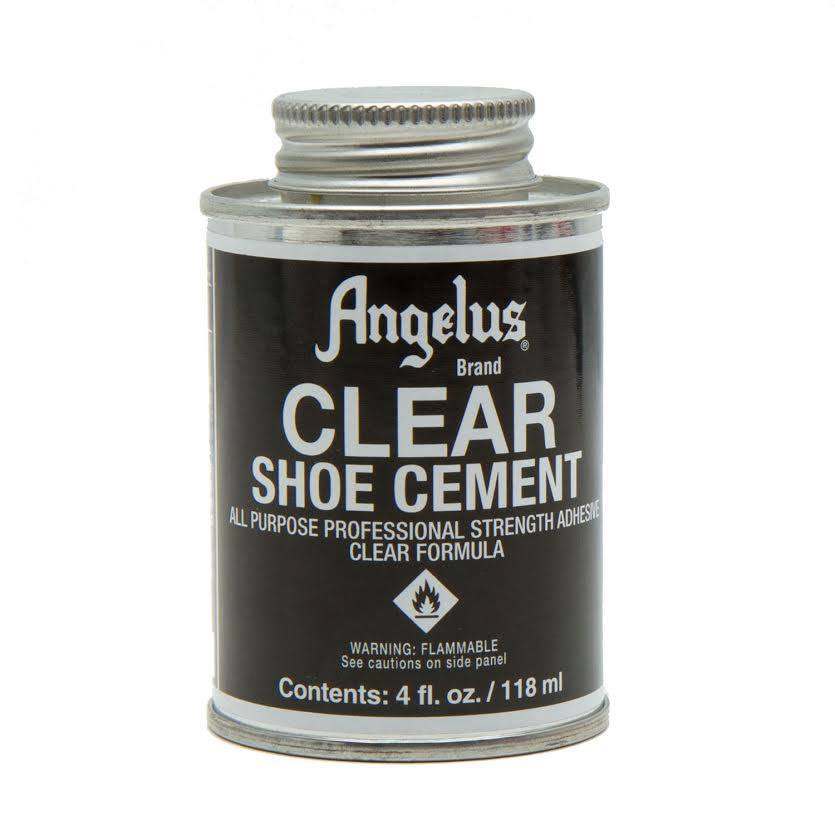 Image of  ANGELUS CLEAR SHOE CEMENT 118ml