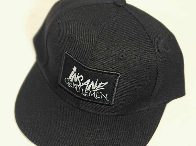 Image of Insane Gentlemen Patch Black Snap Back