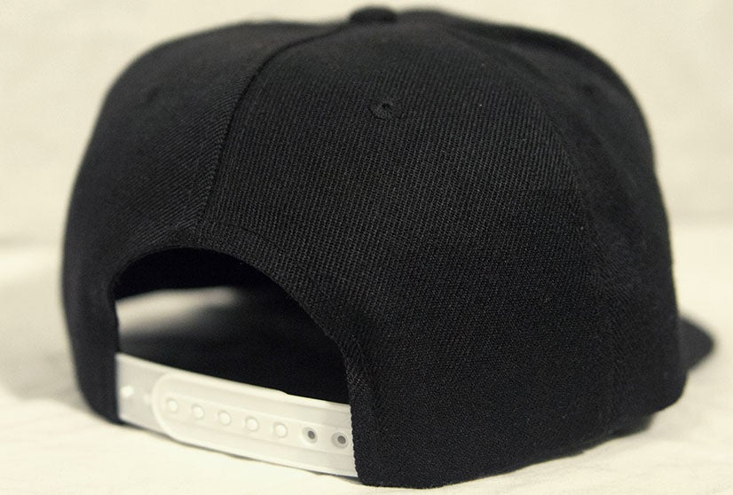 Image of Insane Gentlemen Patch Black/White Snap Back